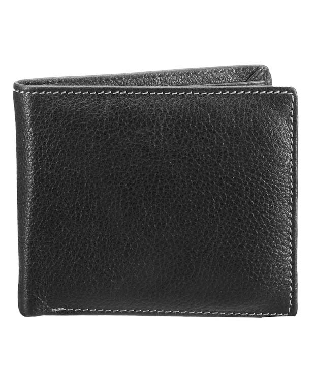 Exclusive Walletsnbags Black Colored Men's Leather Wallet @ Rs.423 Cacn4k10