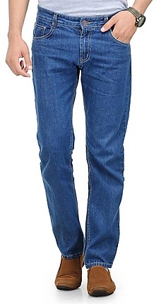 Phoenix Blue Colored Men's Cotton Regular Fit Trendy Jeans @ Rs 499 Phoeni10