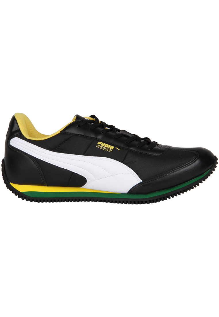 Puma Men's Running Shoes : Speeder Tetron Ind Black Synthetic Leather @ Rs 2499 Puma-s10