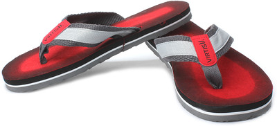 Virtis Men's Red Colored Trendy And Stylish Flip Flops @ Rs.239 Red-mf10