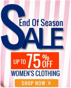 End Of Season Sale: Upto 75% OFF On Women's Designer Clothing    Untitl13