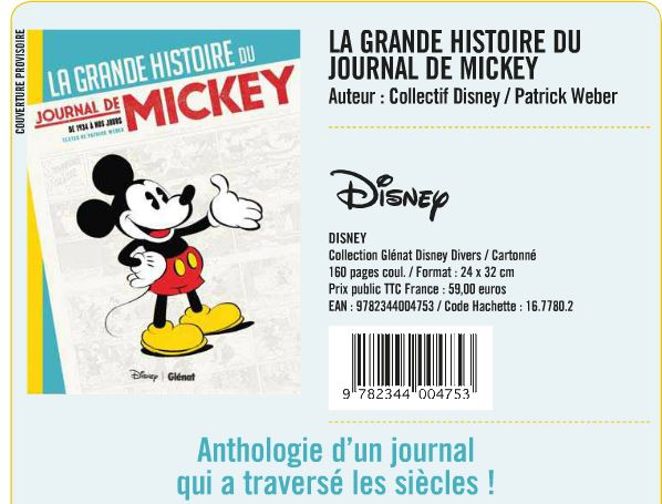 [Bandes Dessinées] Le Vintage (2014) La Grande Histoire du Journal de Mickey le 22 octobre 2014 Jdm10