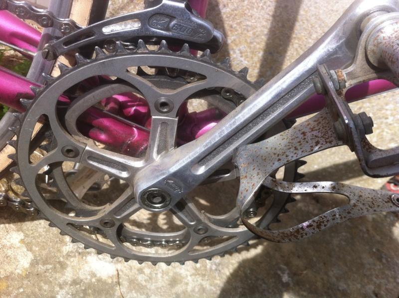 Mercier début 80 rose métallisé  Img_2314