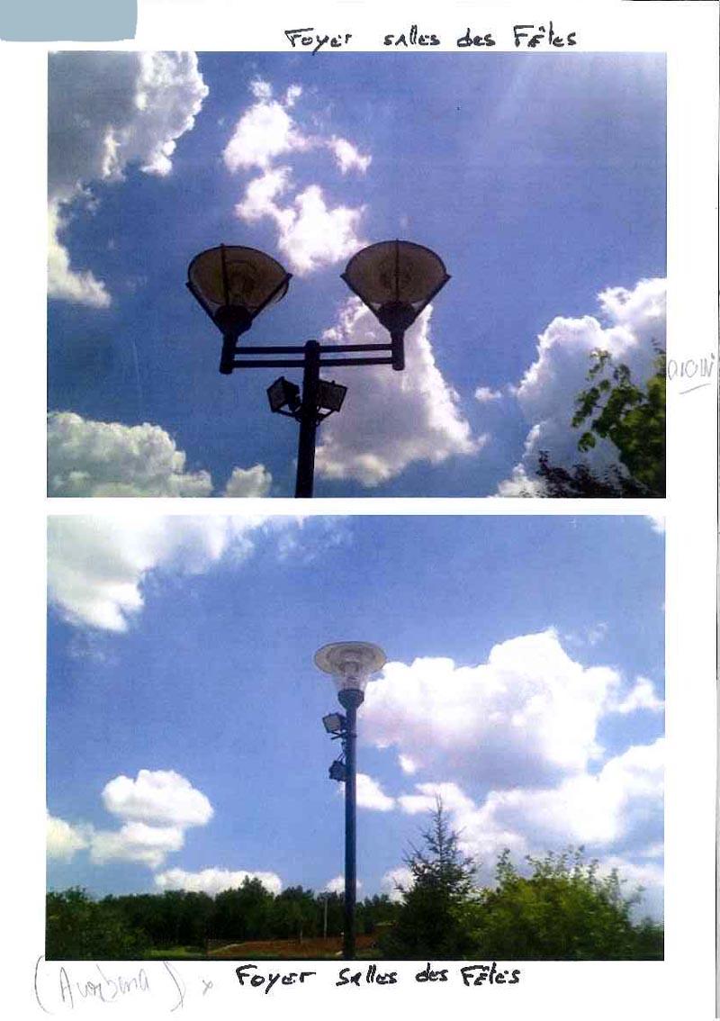 Luminaires éclairage public résidentiel 20140714