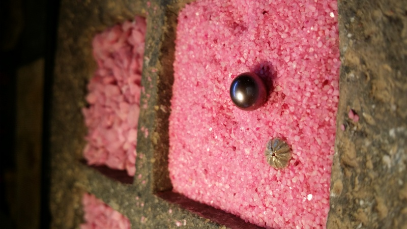 Pendentif calotte argent pour perle 20140847