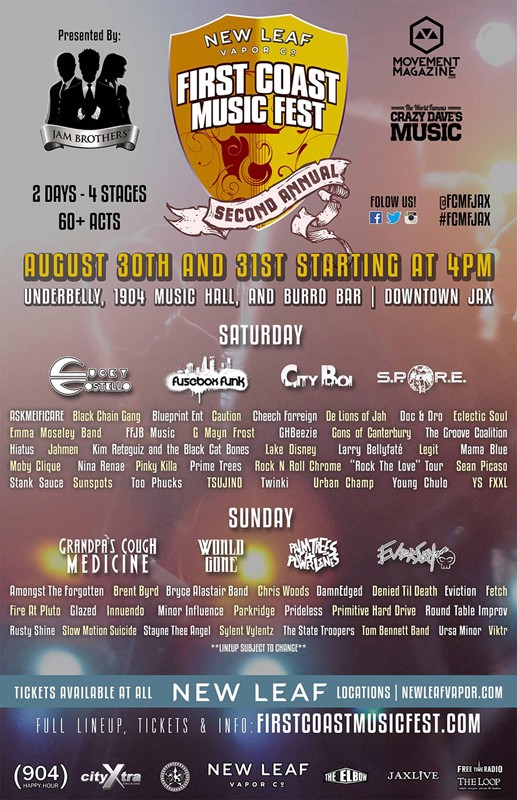 FREE TICKET CONTEST: First Coast Music Fest 2014 10549212