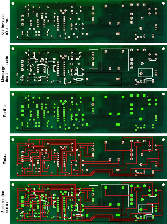 Rétroconception pour réparation et reproduction de circuits Calque11