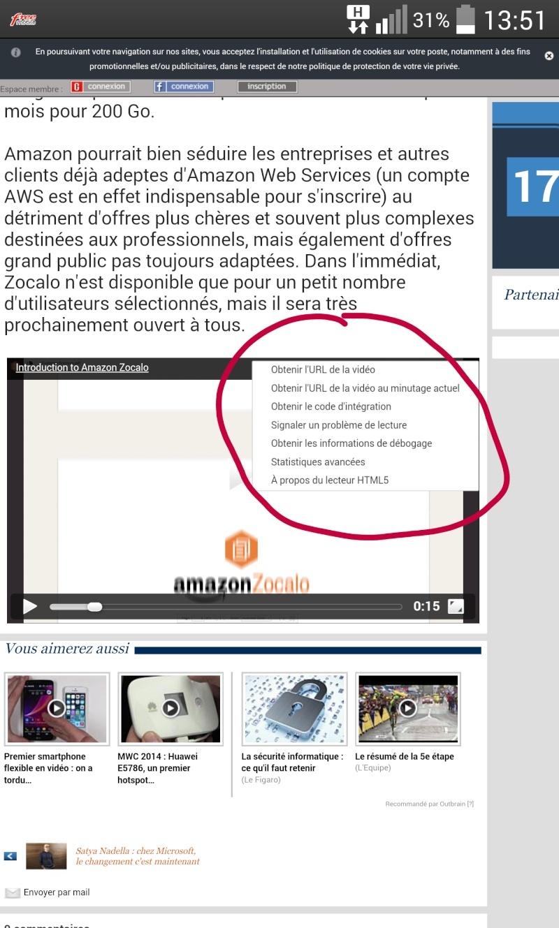 [Aide] probleme menu qui s'affiche sur les videos dans les navigateurs Quickm10