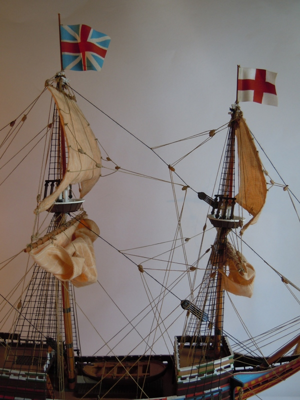 "Galion ""Mayflower"" 1/150 - Heller   01110"