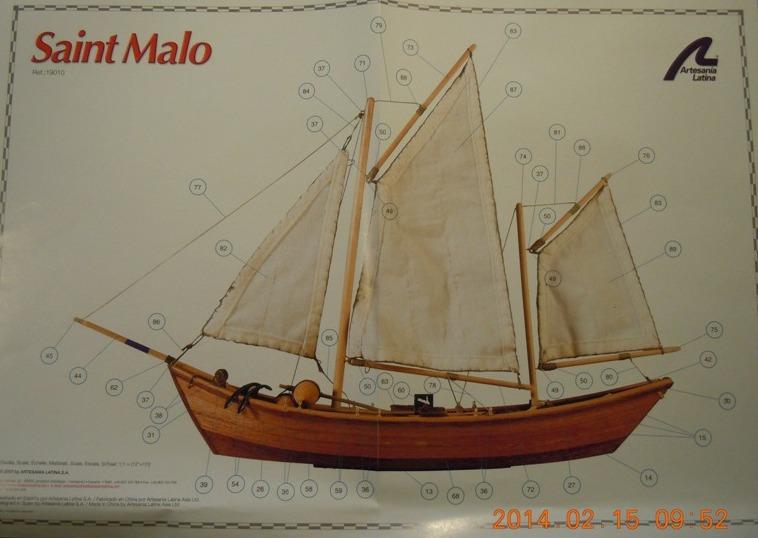"""Doris?tid=e532c9d08dece77e3c3c1acd9cc02fed - Doris """"Saint Malo"""" de Artesania Latina au 1/25° 3112"""