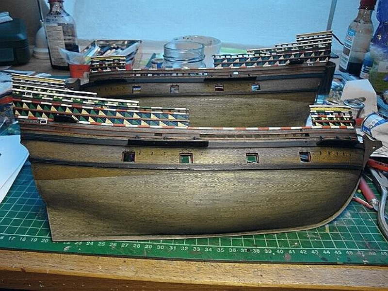 "Galion ""Mayflower"" 1/150 - Heller   Dsc03510"