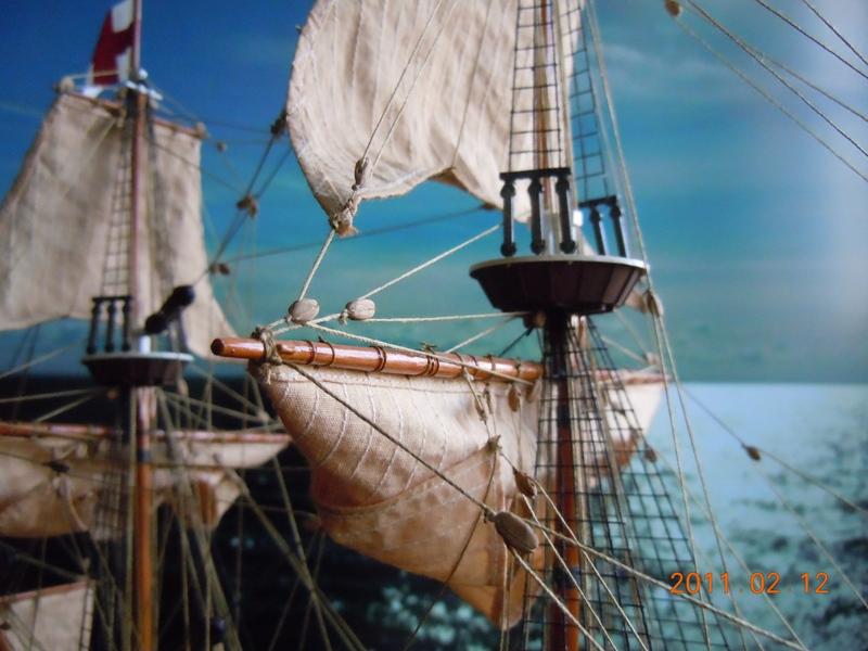 """Galion """"Mayflower"""" 1/150 - Heller   Dscn2410"""