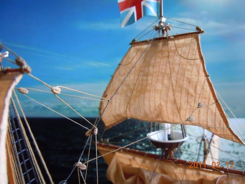 """Galion """"Mayflower"""" 1/150 - Heller   Dscn2411"""