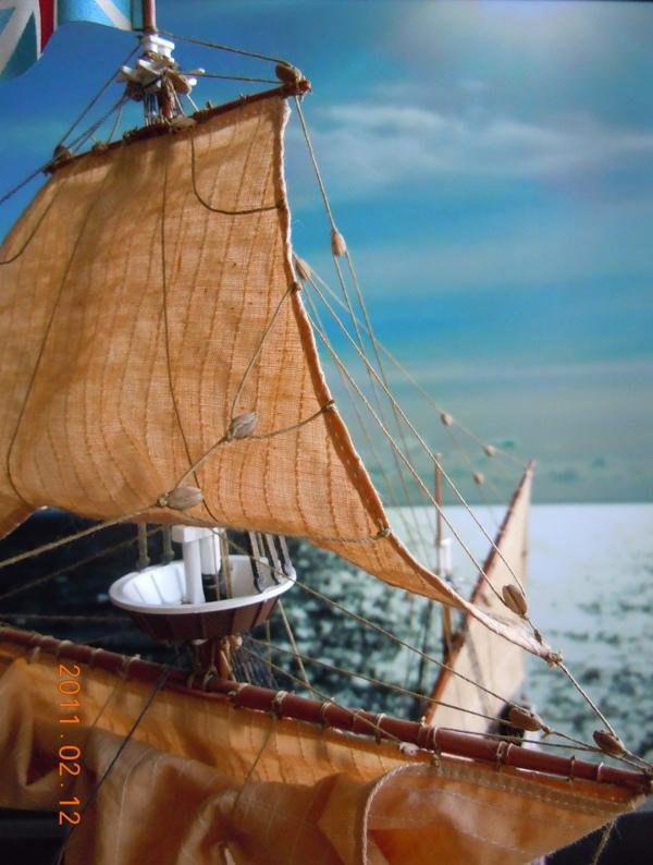 """Galion """"Mayflower"""" 1/150 - Heller   Dscn2412"""