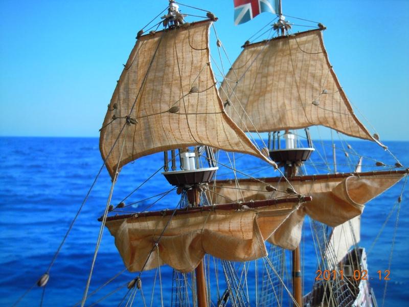 """Galion """"Mayflower"""" 1/150 - Heller   Dscn2413"""