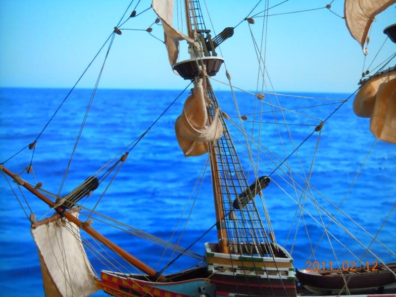 """Galion """"Mayflower"""" 1/150 - Heller   Dscn2414"""