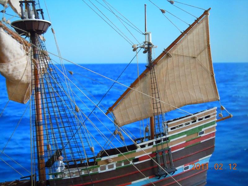 """Galion """"Mayflower"""" 1/150 - Heller   Dscn2415"""