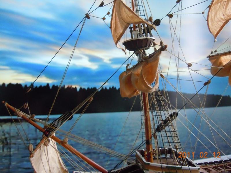 """Galion """"Mayflower"""" 1/150 - Heller   Dscn2416"""