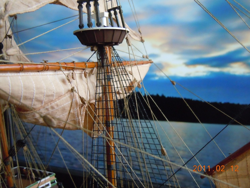 """Galion """"Mayflower"""" 1/150 - Heller   Dscn2417"""