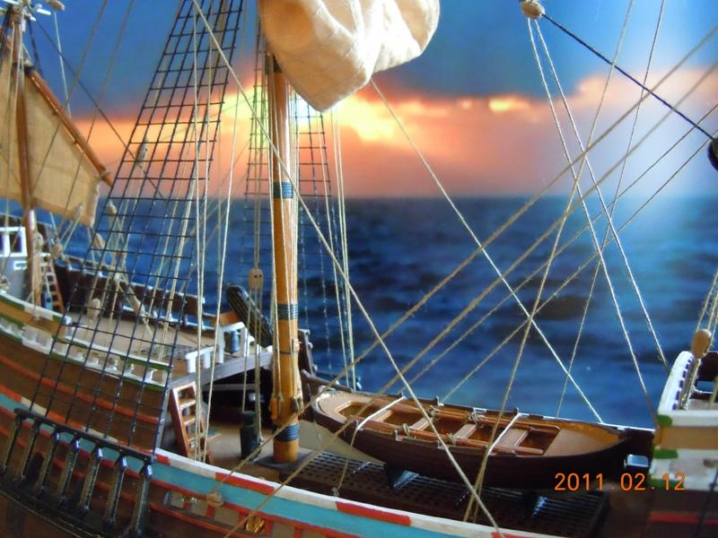 """Galion """"Mayflower"""" 1/150 - Heller   Dscn2418"""
