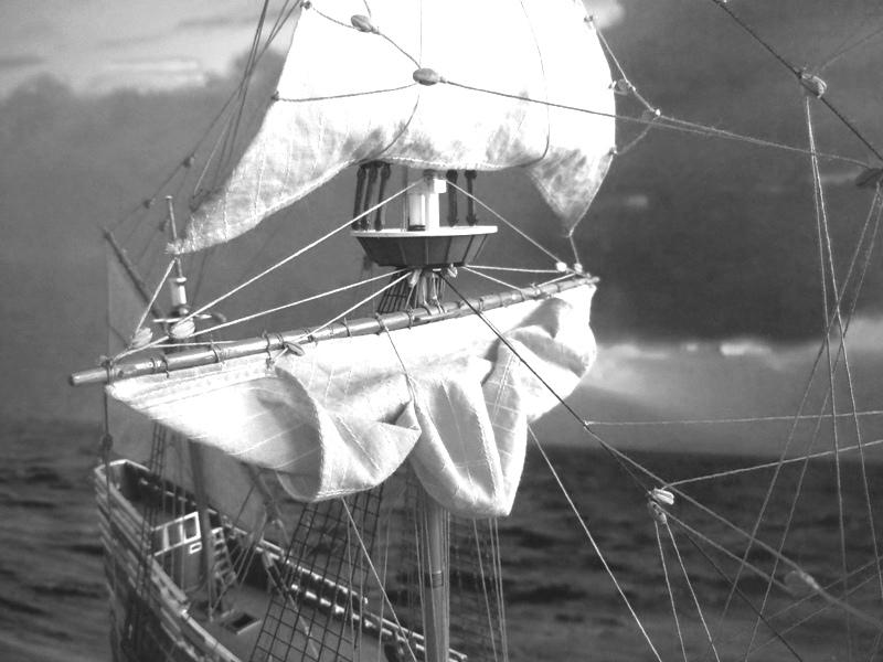 """Galion """"Mayflower"""" 1/150 - Heller   Dscn2419"""