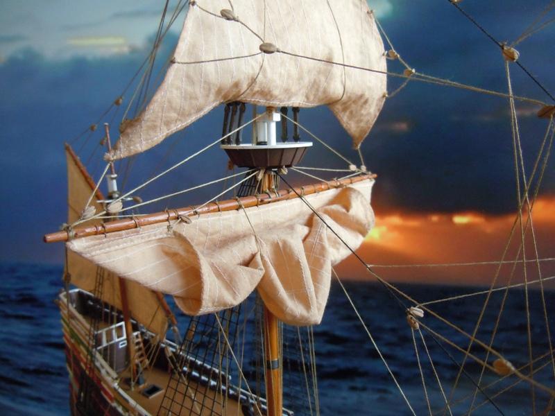 """Galion """"Mayflower"""" 1/150 - Heller   Dscn2420"""