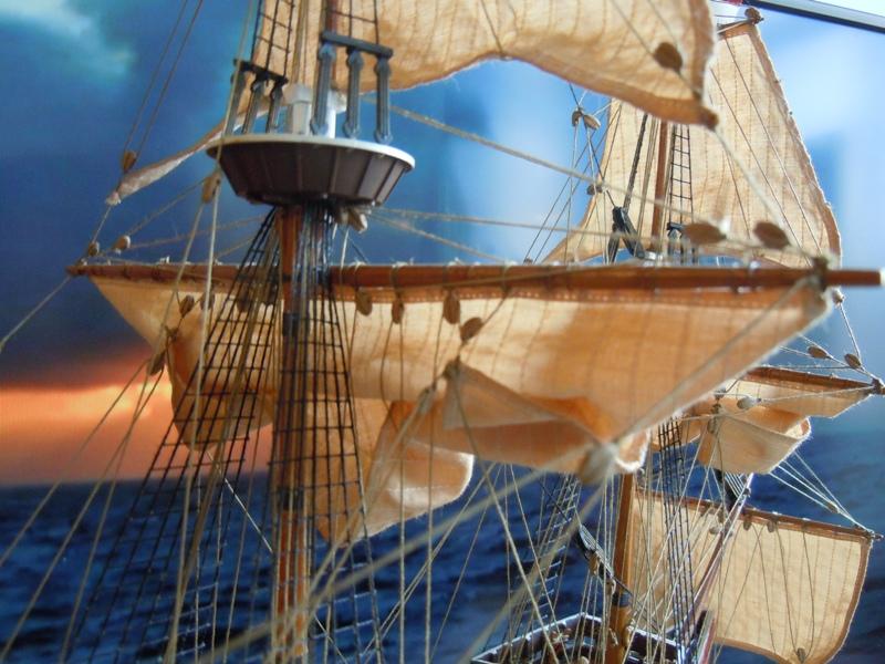"""Galion """"Mayflower"""" 1/150 - Heller   Dscn2510"""