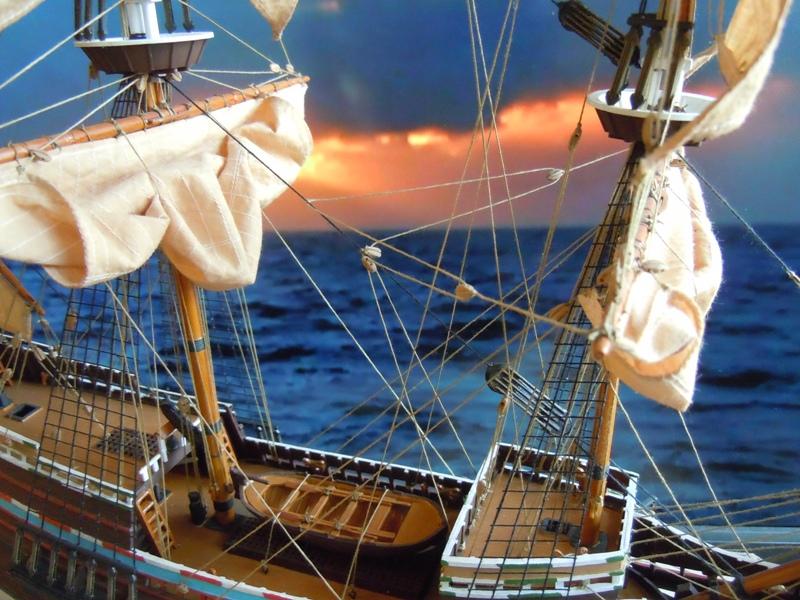 """Galion """"Mayflower"""" 1/150 - Heller   Dscn2511"""
