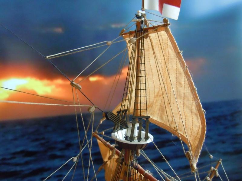 """Galion """"Mayflower"""" 1/150 - Heller   Dscn2512"""