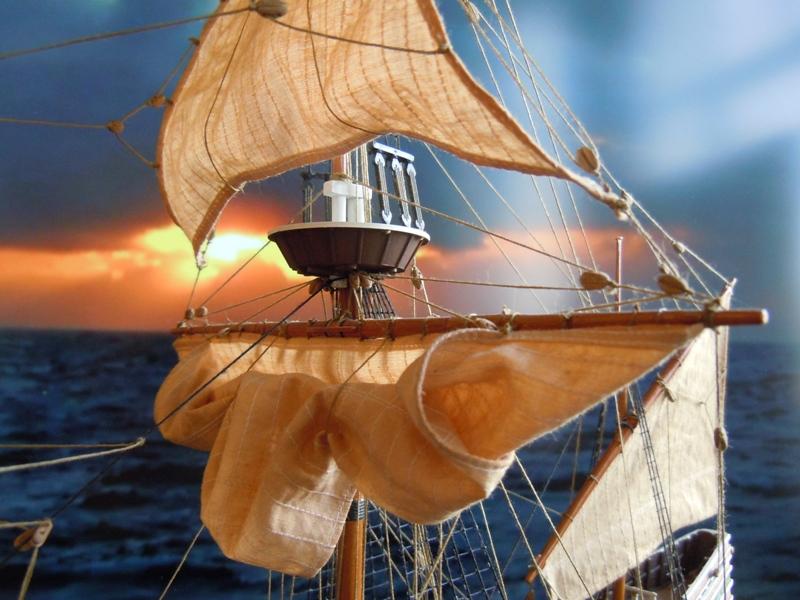 """Galion """"Mayflower"""" 1/150 - Heller   Dscn2513"""