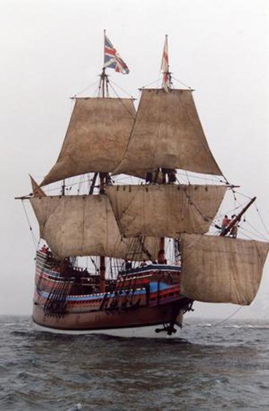 """Galion """"Mayflower"""" 1/150 - Heller   G12c0010"""