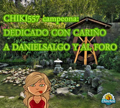 Premio para CHIKI557 chinchon Jardin10