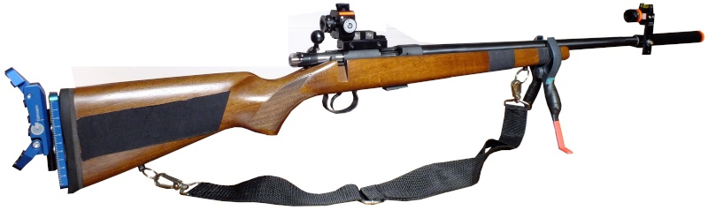 Carabine Varmint équipée match Carabi18