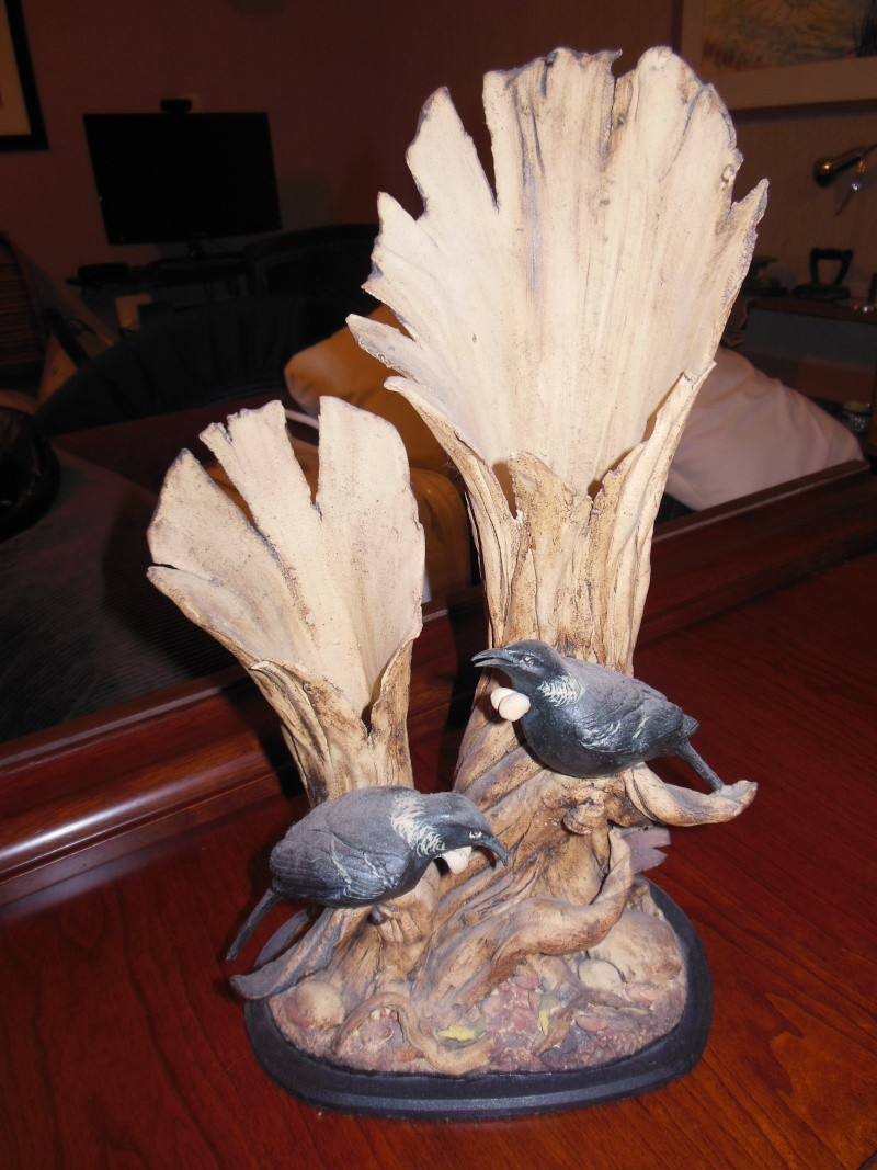 Pauline Abbott Tui stoneware sculpture - any idea of value? Tui_sc15