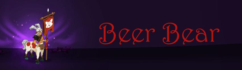 Forum de la guilde Beer Bear