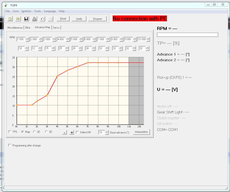 courbe avance allumage, décalage de l'avance par raport à l'origine Captur11