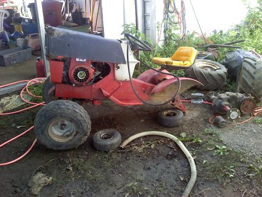 The sears Reaper offraod mower J10