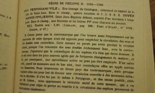 Double Sol de Perpignan de Louis XIV Picsar15