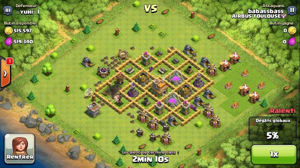 Quelle combinaison d'attaque des troupes VS niveau HdV VS stratégie (Farm/Rush,...) Screen11