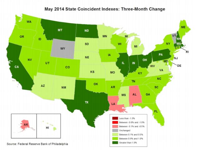 States Economic Rankings Coinic10