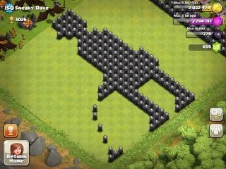 Les constructions de village improbables mais vrai... Clash-10
