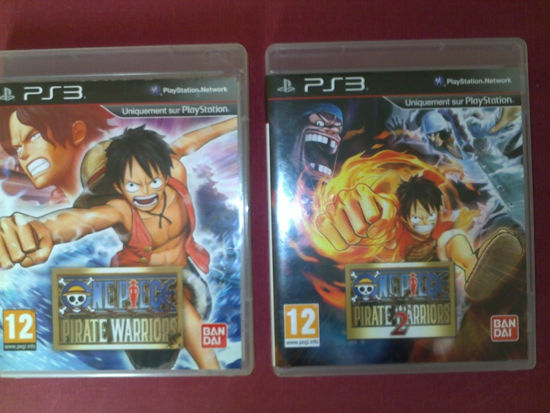 Votre collection de jeux vidéos One Piece 09082010