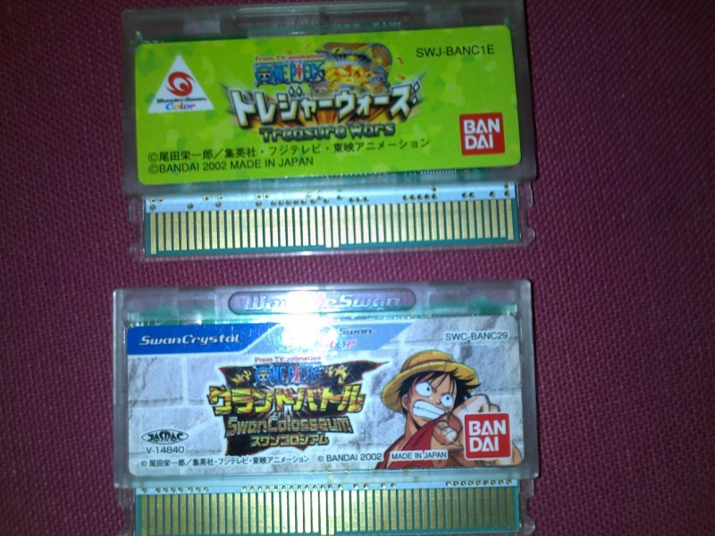 Votre collection de jeux vidéos One Piece 09082016