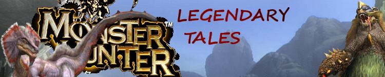 """Monster Hunter RPG """"Legendary Tales"""" Title110"""