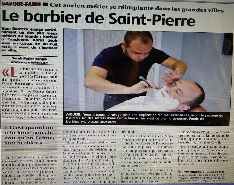 Article salon barbier Montluçon Articl10