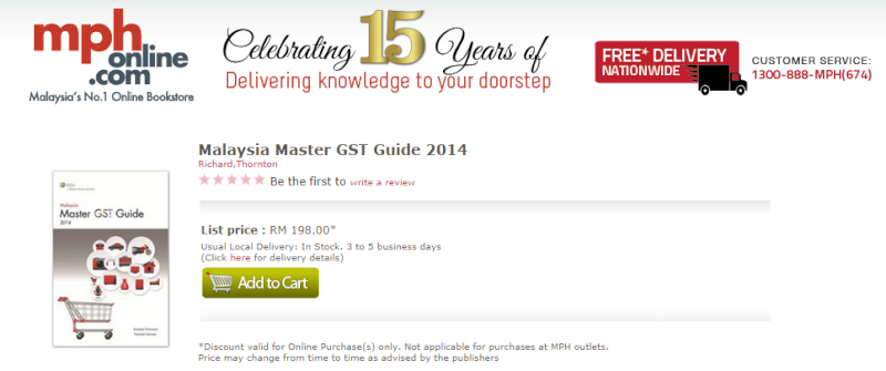 Recommended GST Book Mph_ma10