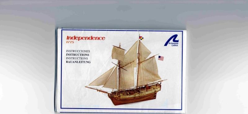 "Maquette du voilier l ""Independence "". Findep21"