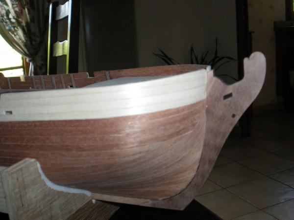 """Maquette du voilier l """"Independence """". Proue_11"""
