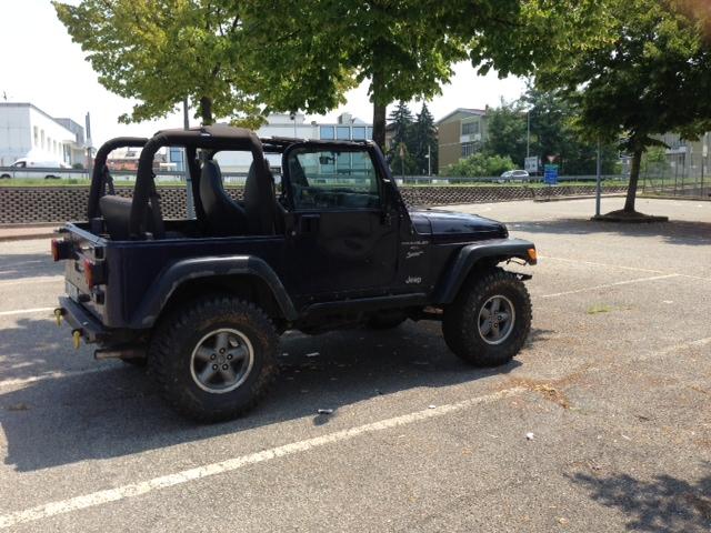 1999 Jeep Wrangler TJ - il mio cassone Image211