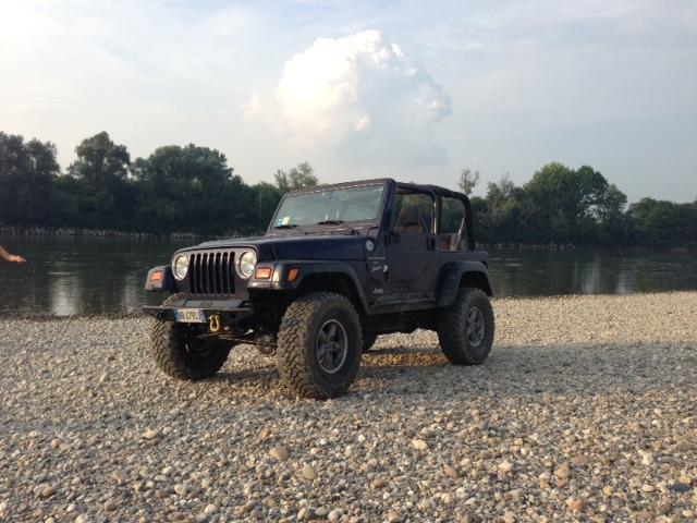 1999 Jeep Wrangler TJ - il mio cassone Image310